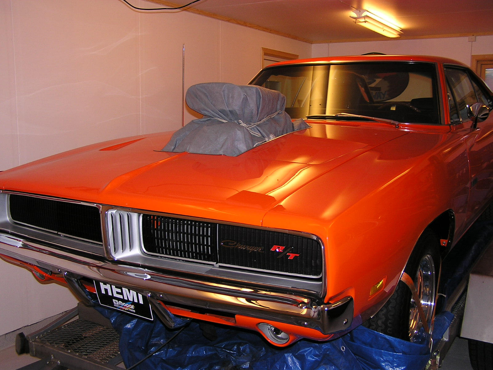 1969 dodge charger with blower wallpaper