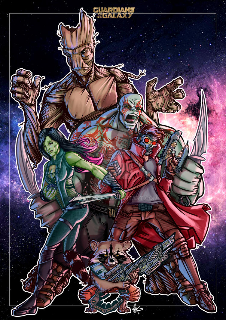 GUARDIANS OF THE GALAXY tribute by maikymAik