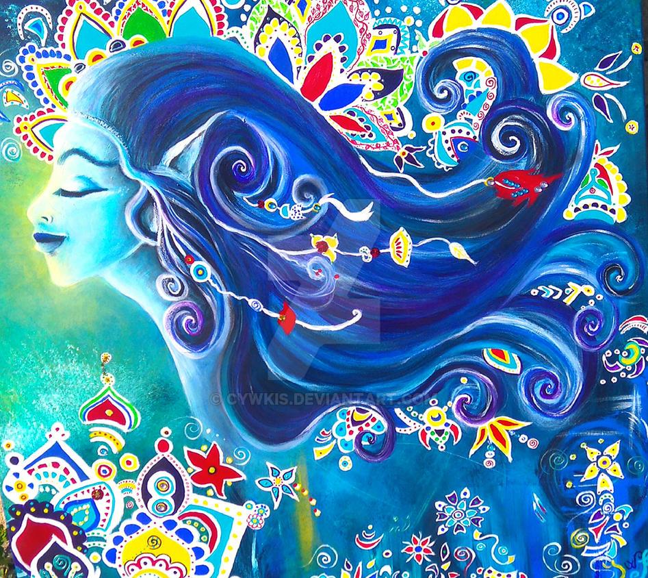 La Fee bleue by cywkis