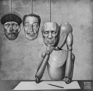 Los buenos artistas copian, los genios roban