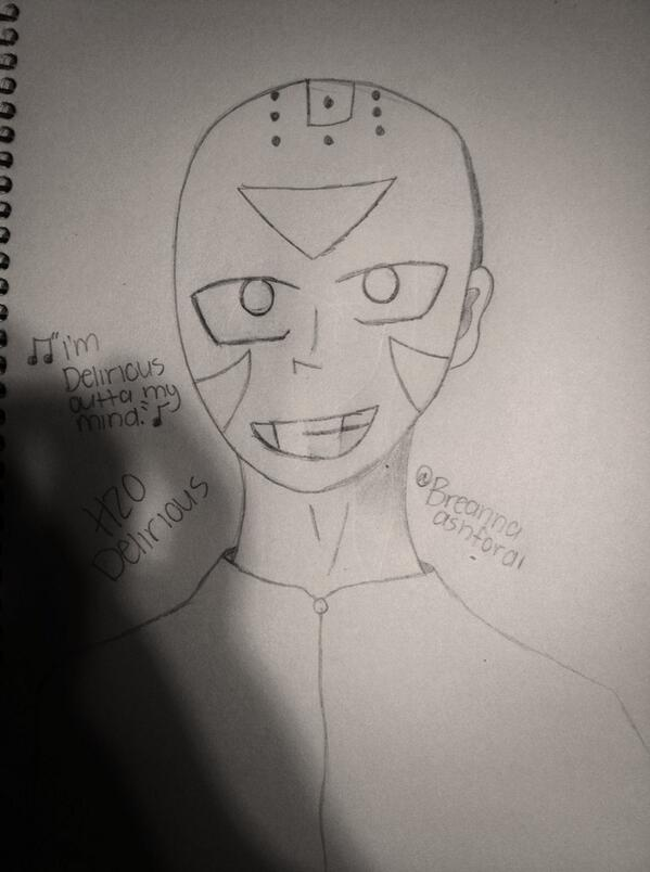 H2O Delirious drawing by  H20 Delirious Drawing