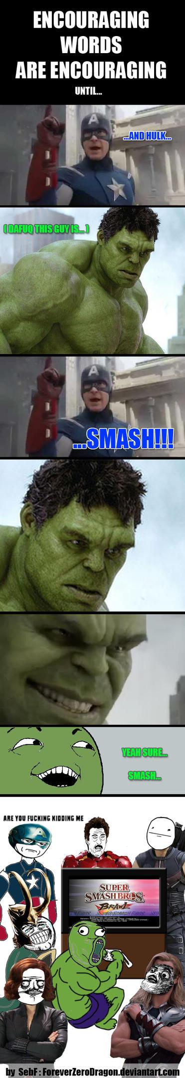 smashing_things_is_too_mainstream___avengers_meme_by_foreverzerodragon d588fm7 smashing things is too mainstream avengers meme by,Avengers Meme