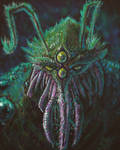 Monster portrait - HeavyPaint by ForeverZeroDragon