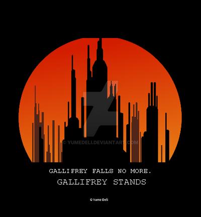 GALLIFREY STANDS by YumeDeli