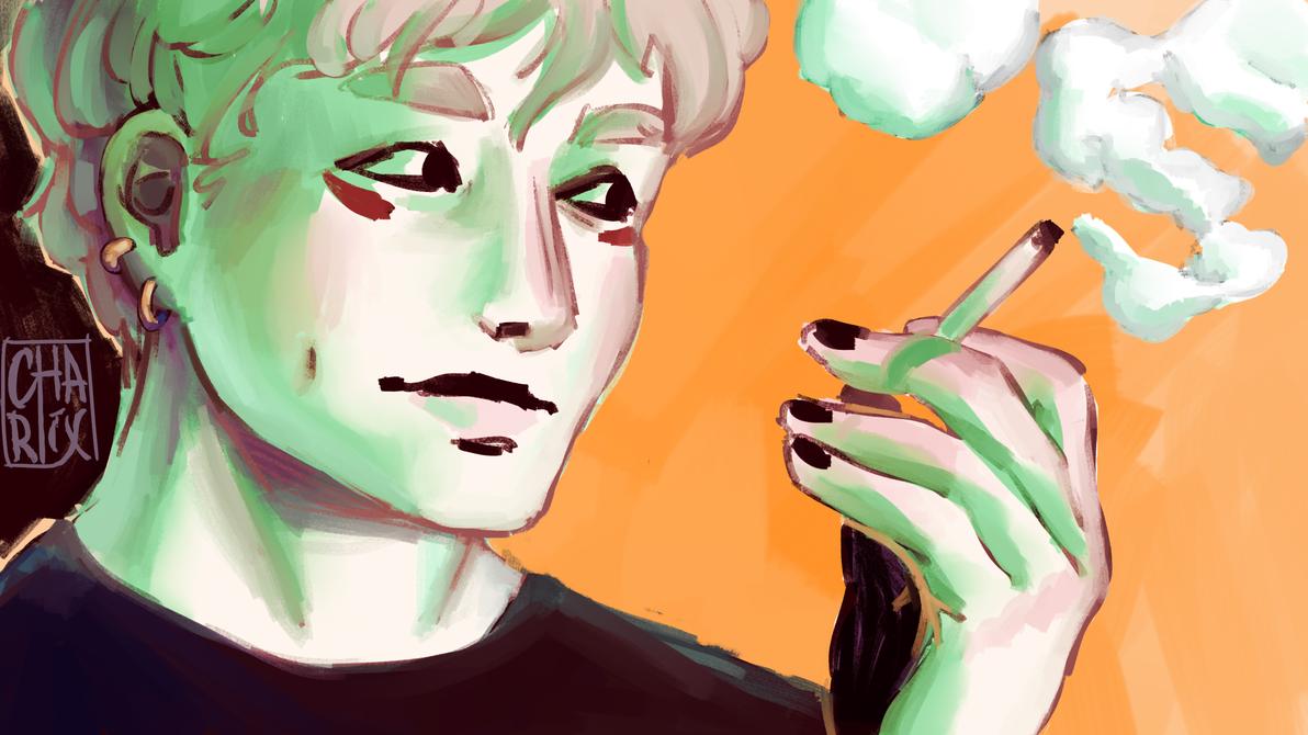 [SW] Smokin by Emeline93