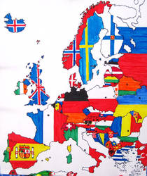 Flags of Europe by Liuv