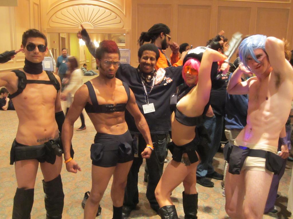 Nudist group pics