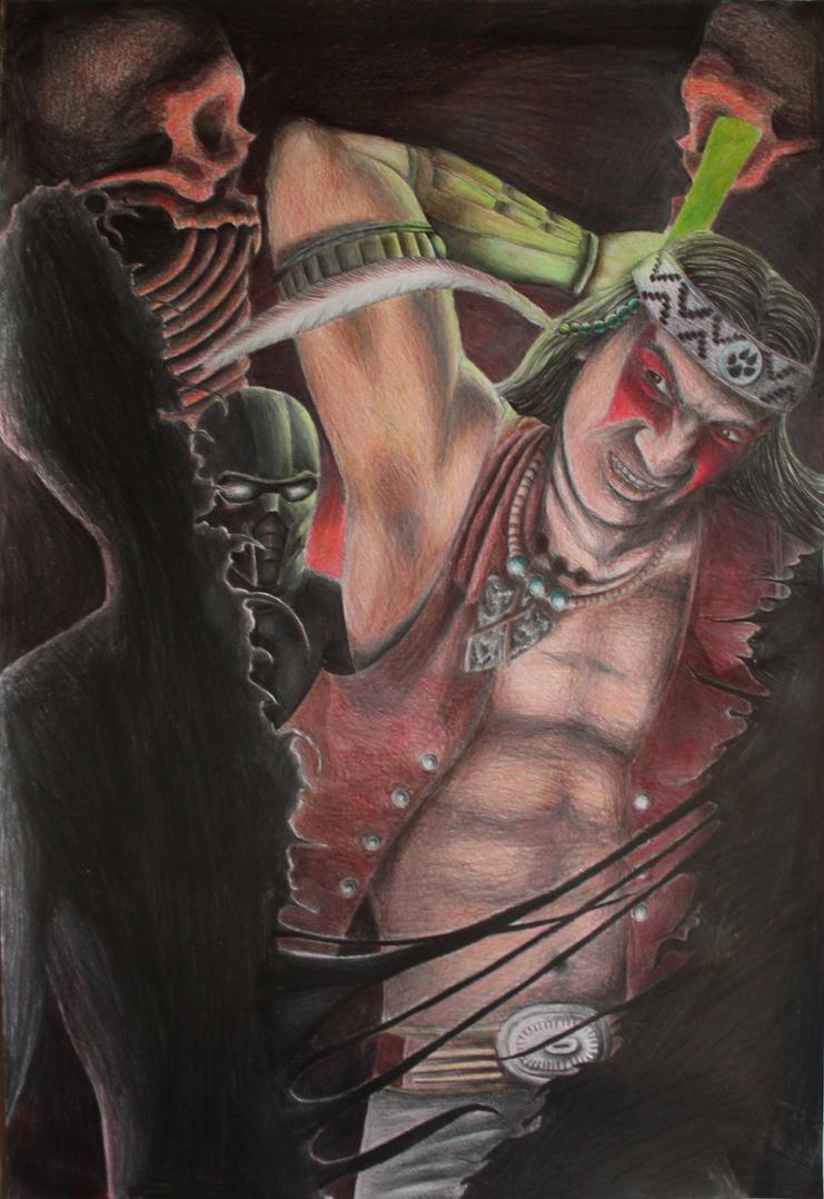 Nightwolf vs noob by gentecita
