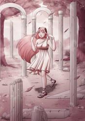 Ancent garden by Yuki--V