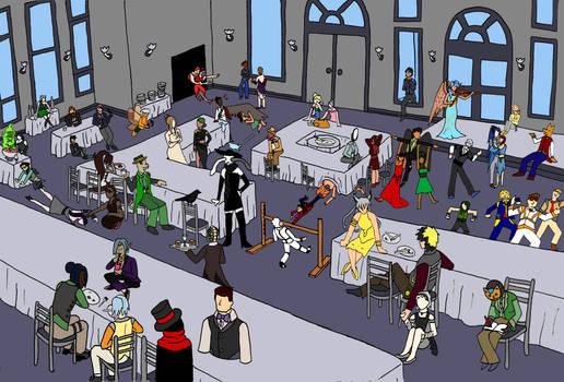 The Once-Dead Formal Dinner