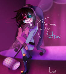 Welcome To my Show (Elizabeth Joker) by Ghost-Shadow87
