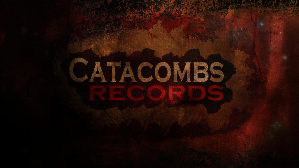 Catacombs Records wallpaper tasarımı