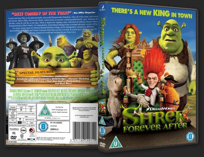 Shrek Forever After 2010 By Dmpettittdesigns On Deviantart