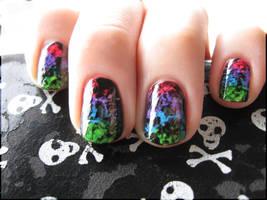 Rainbow Grunge II by Alchemical