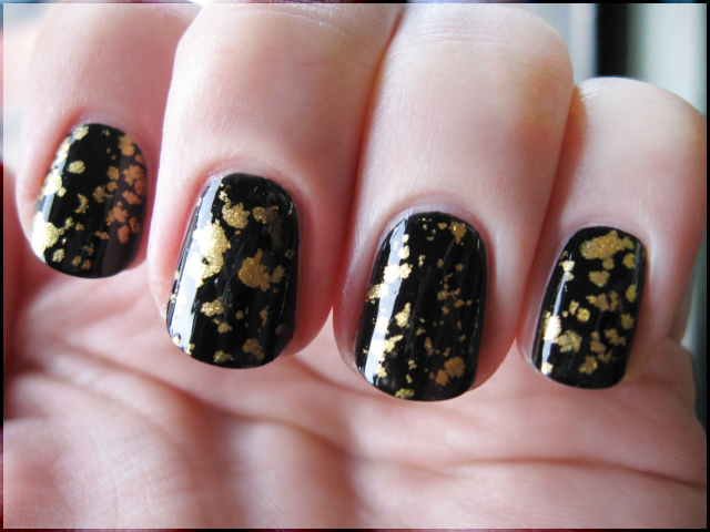 Faking the Gold Flake Top Coat by Alchemical