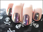 Starry Oil Slick