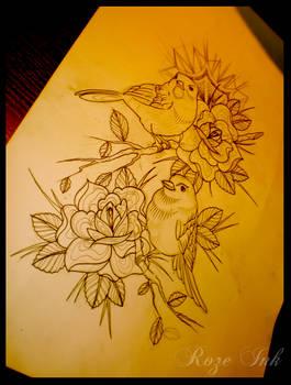 birds n roses