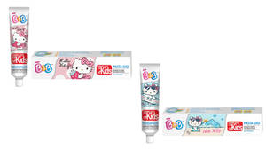 Hello Kitty toothpaste