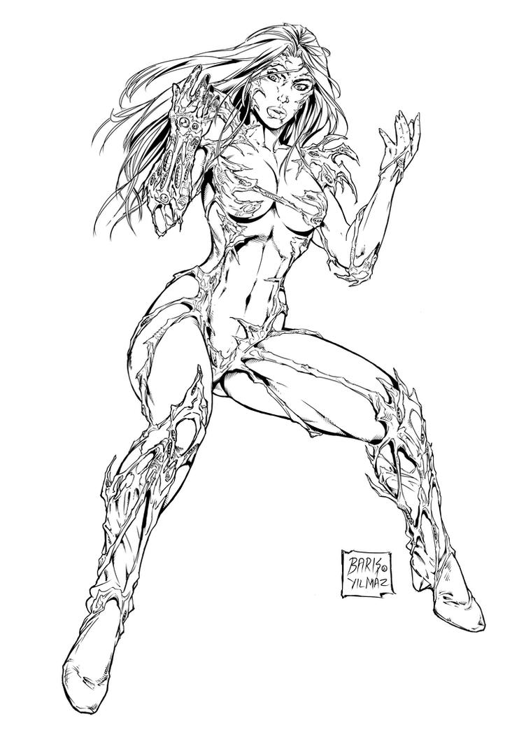 Witchblade commission 22 by Xenomrph