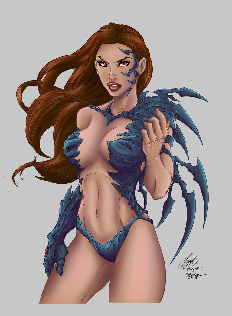 Witchblade color 3 by Xenomrph on DeviantArt