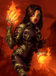 Witchblade commis. 40 color