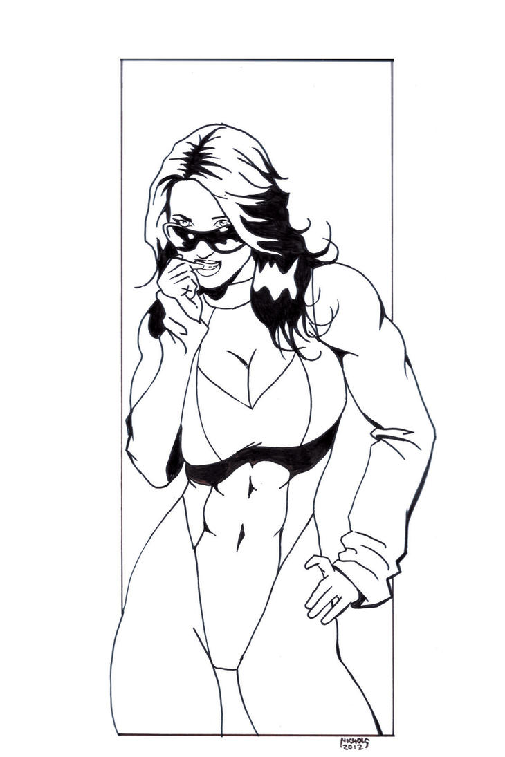 She-hulk commission 40 by Xenomrph