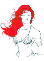 Red Sonja commission 5 by Xenomrph