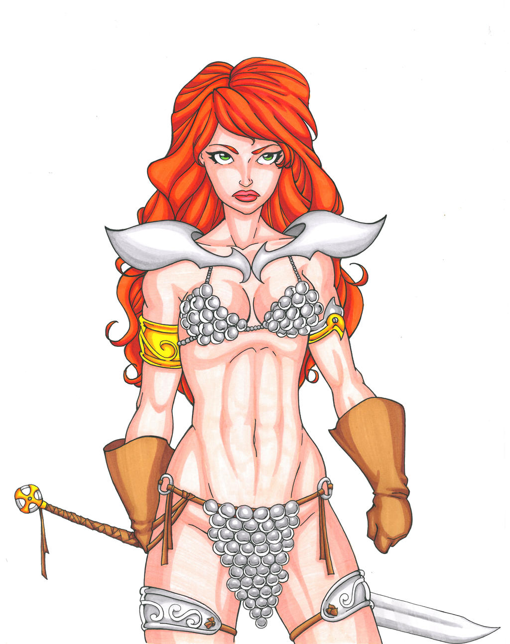 Red Sonja Commission 7 by Xenomrph