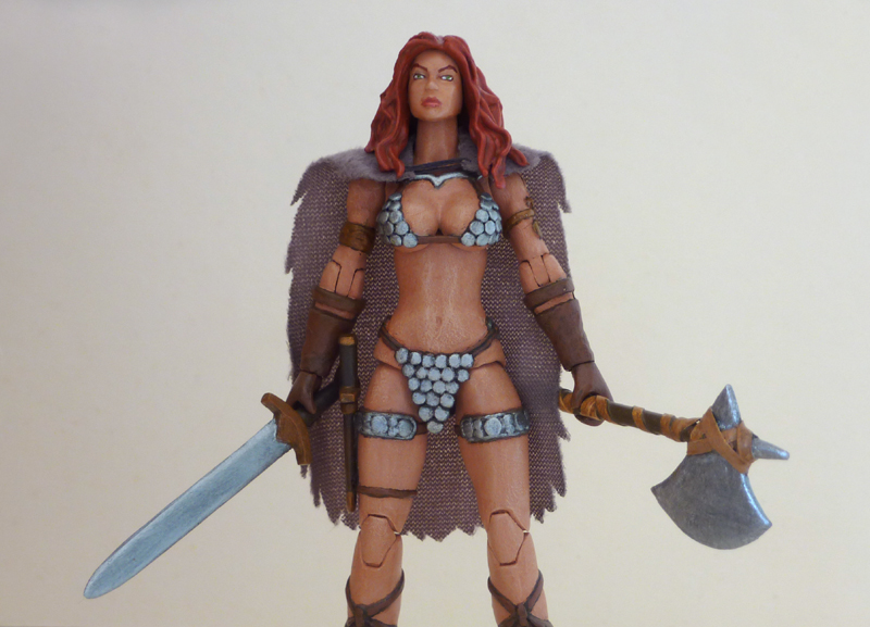 Red Sonja custom action figure 7 by Xenomrph