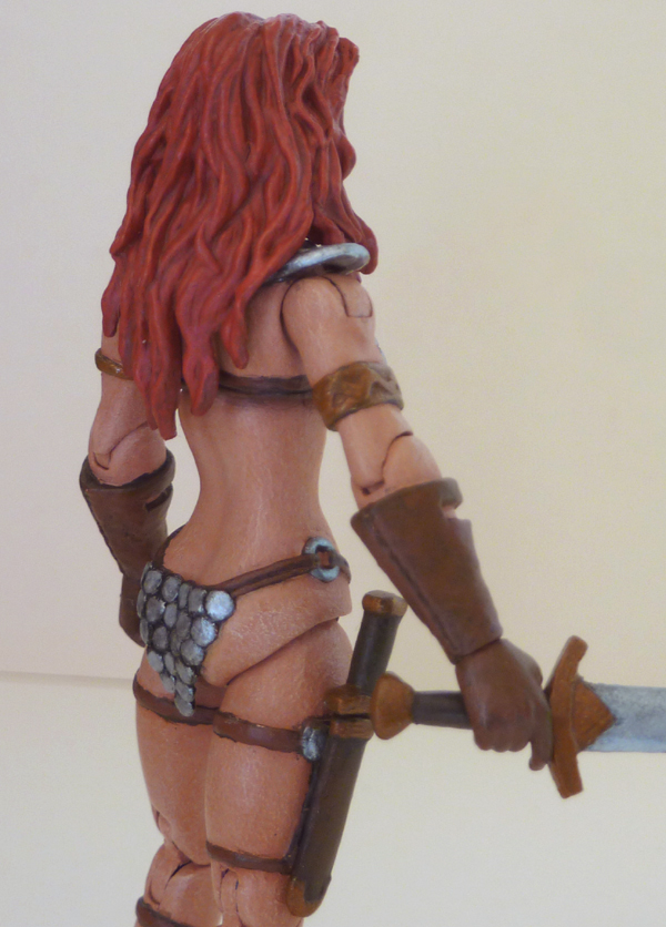 Red Sonja custom action figure 8 by Xenomrph