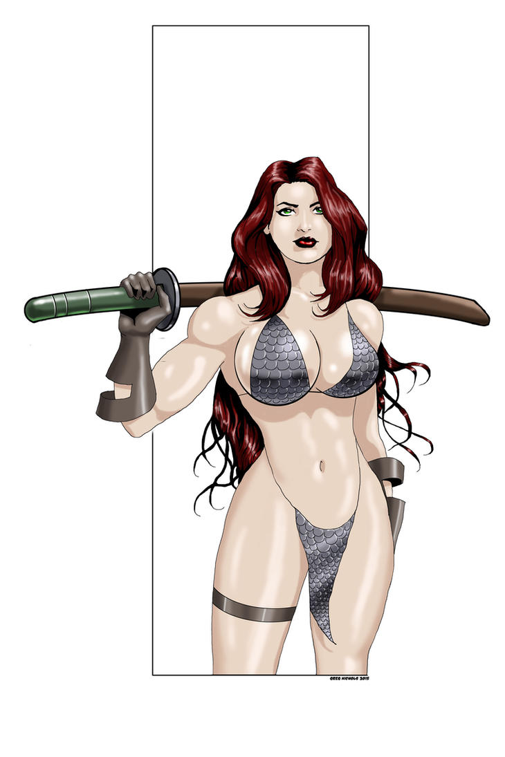 Red Sonja commission 21 by Xenomrph