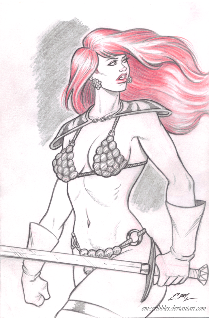 Red Sonja commission 22 by Xenomrph
