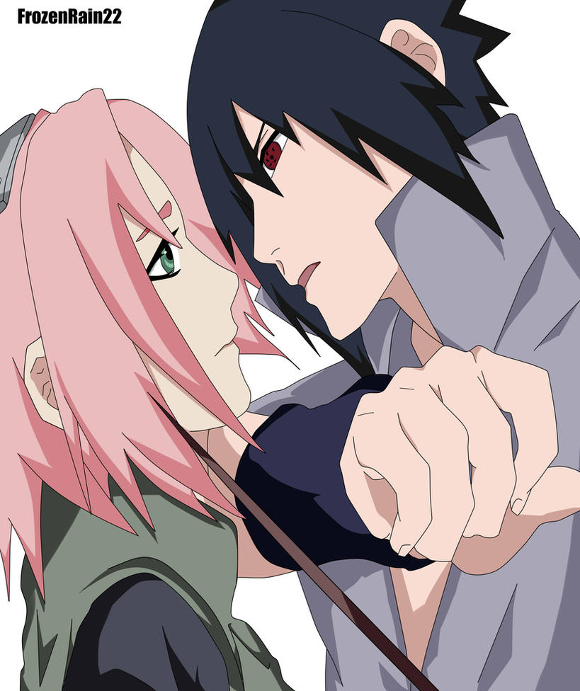 Sasusaku by frozenrain22