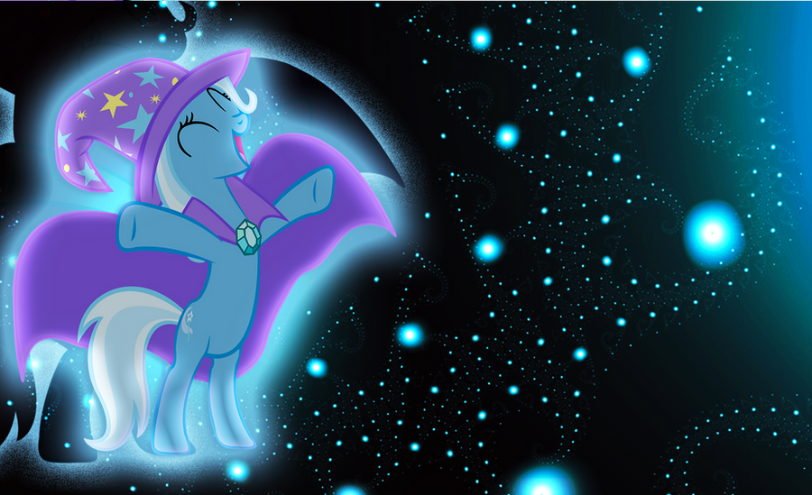 The Great and Powerful Trixie by JustaninnocentPony