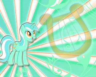 Lyra Wallpaper by JustaninnocentPony