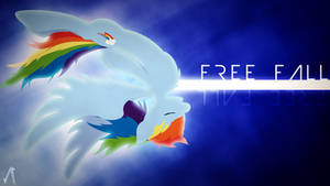 Free Fall by JustaninnocentPony