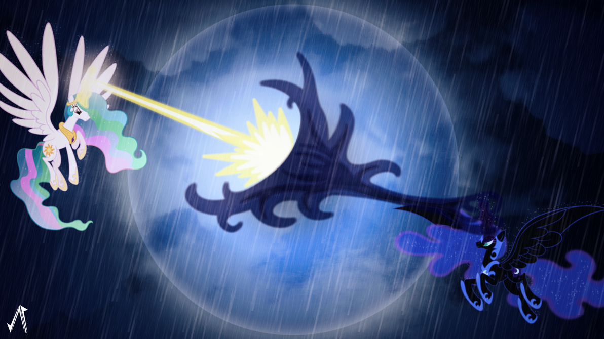 The Grand Battle by JustaninnocentPony