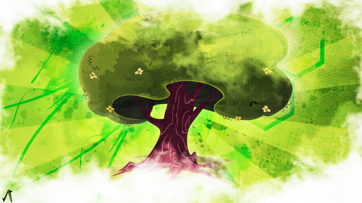 Tree by JustaninnocentPony