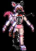 Nightmare Funtime Foxy by DarkGelitan