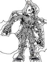 Ennard (INK ART) by DarkGelitan