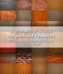 29 Household Textures Pack