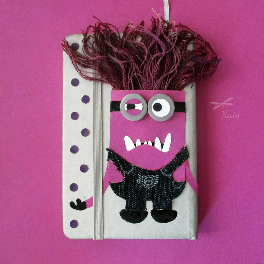 Diy Minion Book Cover : Diy minion cover by colorfulguitar on deviantart