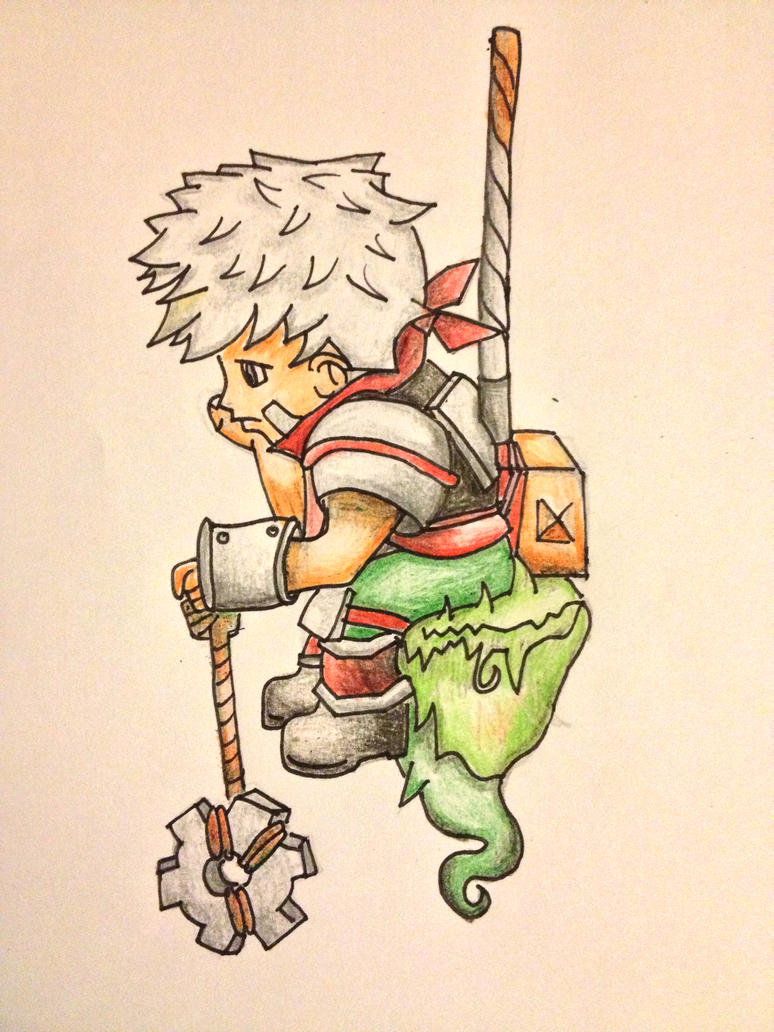 Bastion - The Kid - Fan Art by xDylaan