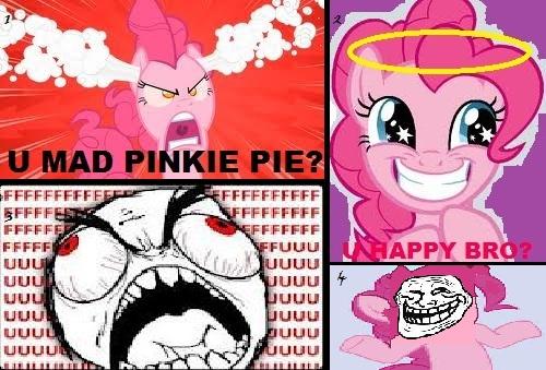 Pinkie Troll by ninetailedkyubbi