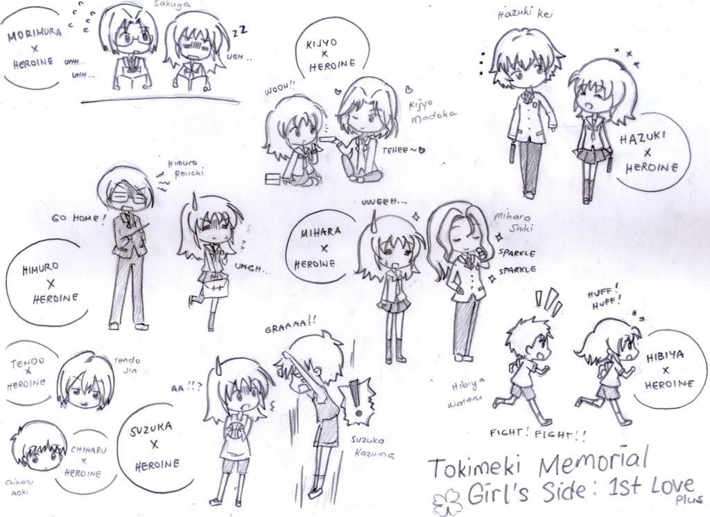 Tokimeki Memorial Girl S Side 1st Love Plus By Fantashii On Deviantart