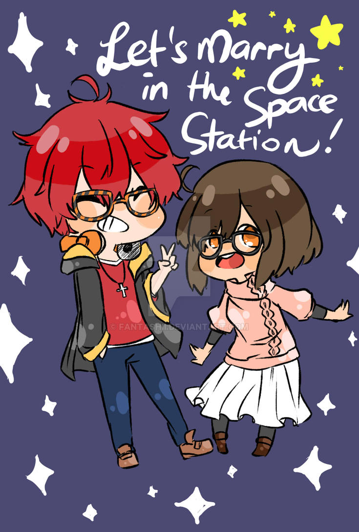 Let's Marry in the Space Station by Fantashii