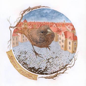 Sparrow oratorium by sergusoid