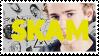 Skam stamp by skeivskank