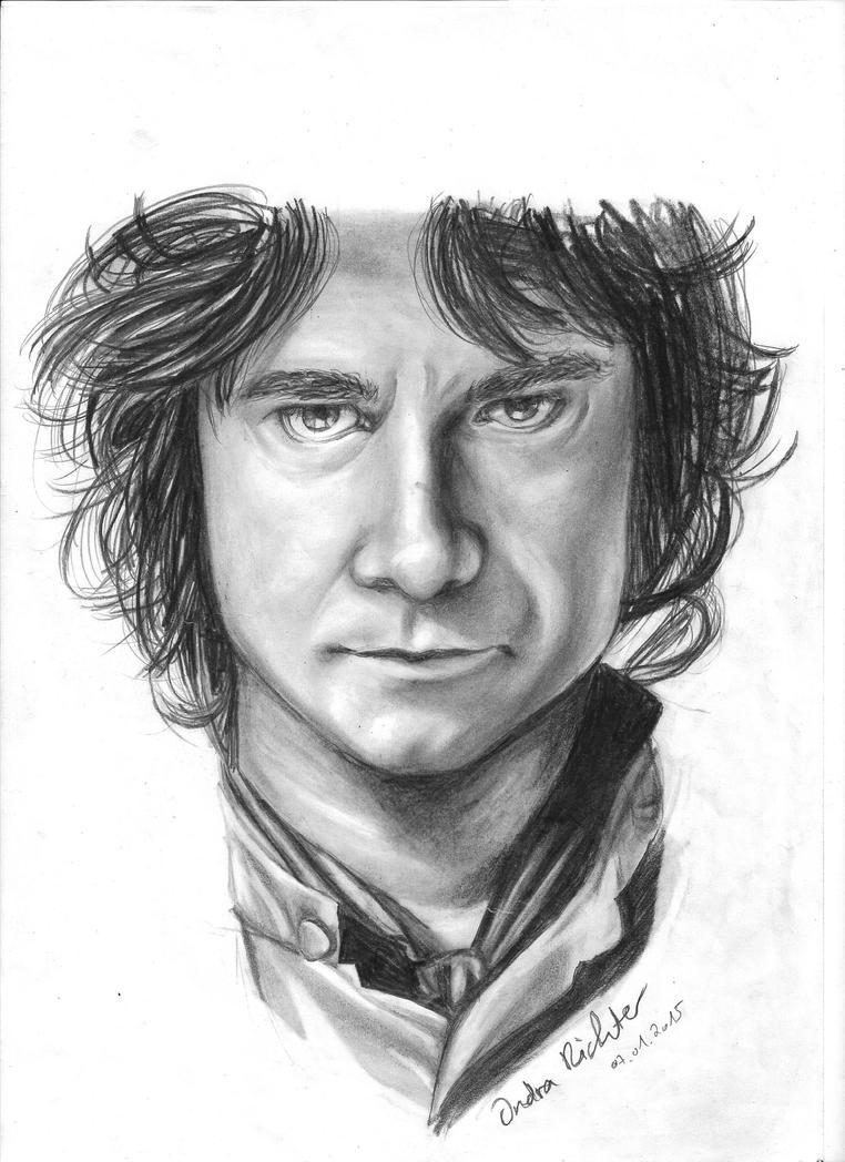 Bilbo Baggins - Portrait by Sadako-26