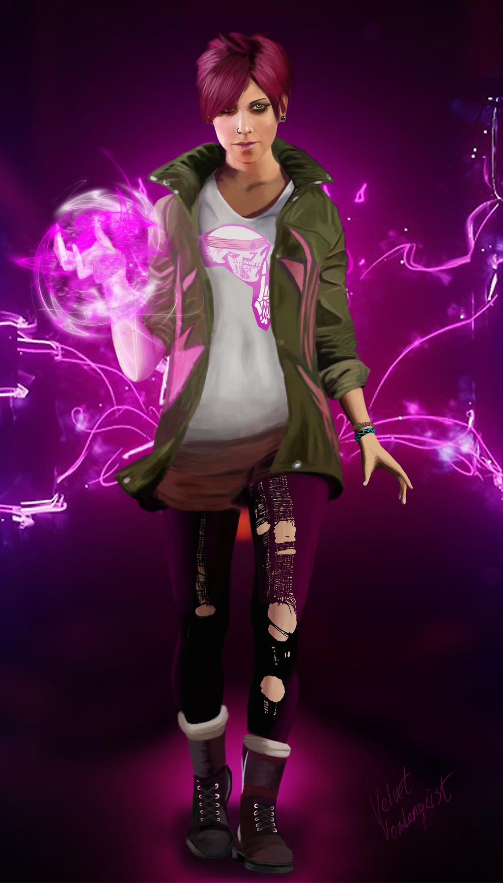 Infamous Second Son - Abigail Walker by VelvetVondergeist on ...